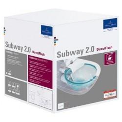 Villeroy&boch  Subway 2.0 Combi-Pack keramiek - Wit