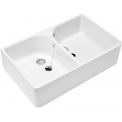 Villeroy & Boch O.novo Evier double Blanc CeramicPlus