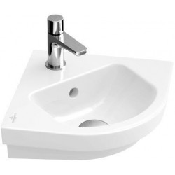 Villeroy & Boch Subway 2.0 Lave-mains d'angle Blanc CeramicPlus