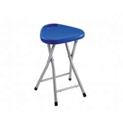 GEDY TABOURET REPLIABLE BLEU