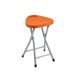 GEDY TABOURET REPLIABLE ORANGE