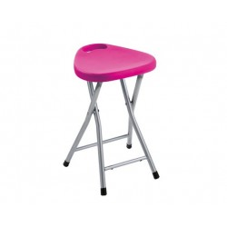 GEDY TABOURET REPLIABLE FUCHSIE
