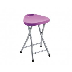 GEDY TABOURET REPLIABLE LILAS
