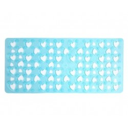 GEDY TAPIS ANTIDERAPANT CUORE BLEU