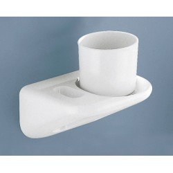 GEDY VERRE ABS BLANC