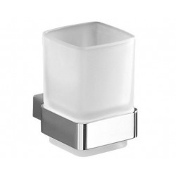 Gedy Lounge Porte brosse à dents 7x9,5x9,9 cm - Chrome