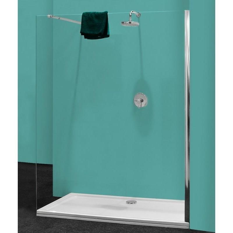 paroi de douche perlo 140 6mm transparent banio salle de. Black Bedroom Furniture Sets. Home Design Ideas
