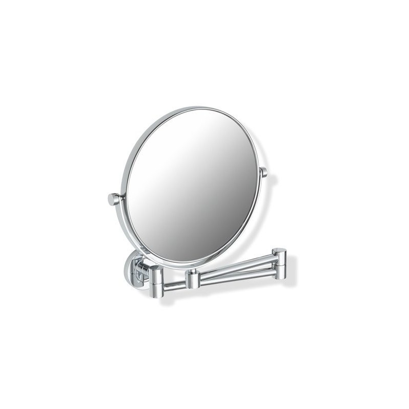 Miroir double face hewi rond for Miroir double face