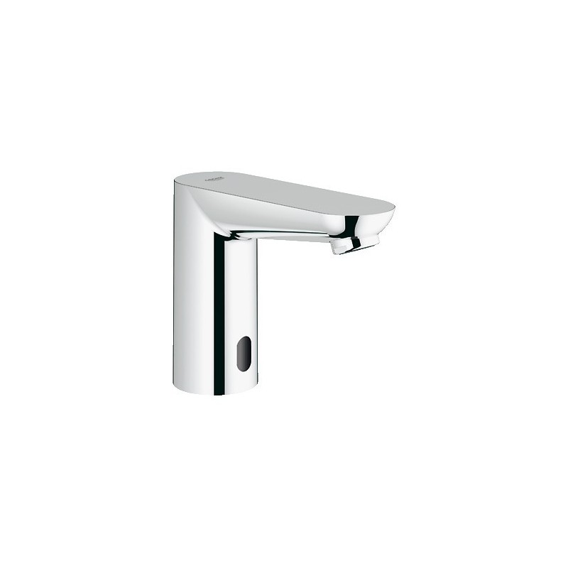 "Grohe Euroeco CE robinet ½"" lavabo infrarouge, sans mitigeur, EcoJoy, 6 V, chromé"