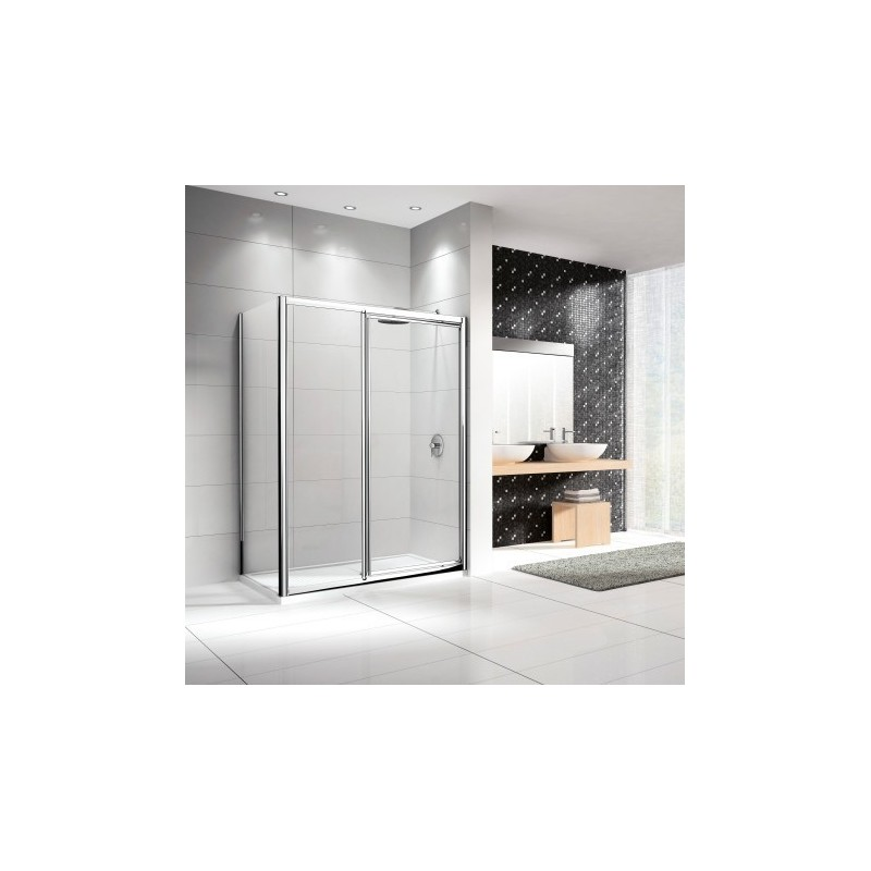 porte de douche novellini pivotante lunes g f en alignement 114 dimension extensible de 114 120. Black Bedroom Furniture Sets. Home Design Ideas