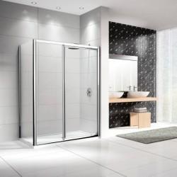Porte de douche novellini pivotante lunes g f en alignement 120 dimension extensible de 120 126 - Porte de douche extensible ...