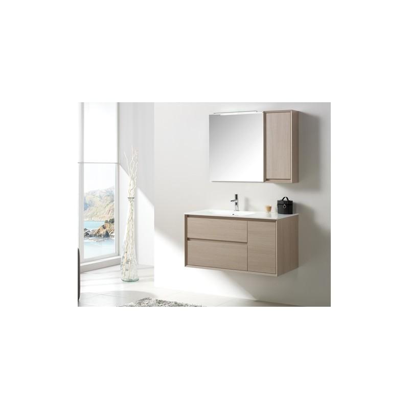 Meuble de salle de bain tebas 52 100 p15 tebas 52 100 p15 for Meuble 70x70