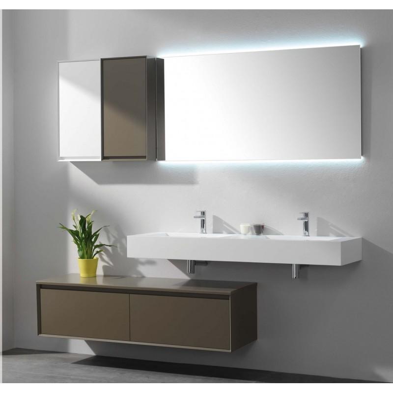 Meuble de salle de bain luxor 35 120 p19 luxor 35 120 p19 - Tapis de bain 120x70 ...