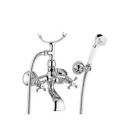 Paffoni viola Mitigeur bain/douche apparent avec set de douche