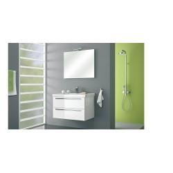 badkamermeubel  Pelipal Cubic van 90 cm wit hooglans