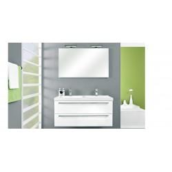 Meuble de salle de bain Pelipal Cubic de 120 cm Chêne foncé