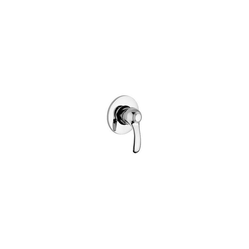 paffoni flavia mitigeur encastr douche 1 2 complet avec rosace luxediametre 110 mm chrome fa011cr. Black Bedroom Furniture Sets. Home Design Ideas