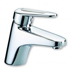 Remo Robinet de lavabo Vidage automatique Chrome