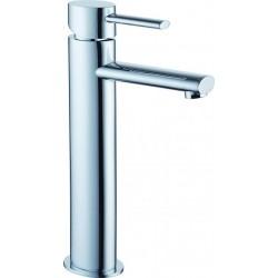 Milano Robinet de lavabo haut Vidage automatique Chrome