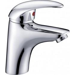 Novara Robinet de lavabo Vidage automatique Chrome