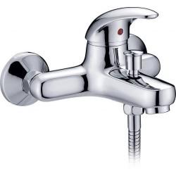 Novara Robinet de bain/douche NU Chrome