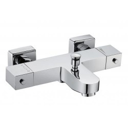 Padova Robinet de bain/douche Thermostatique NU Chrome