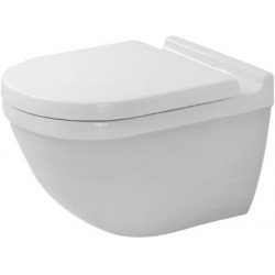 DURAVIT PACK WC suspendu  STARCK 3 RIMLESS