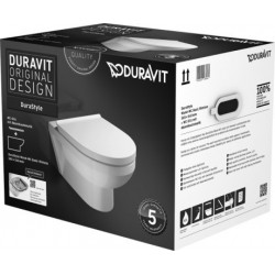 DURAVIT PACK WC suspendu DuraStyle BASIC