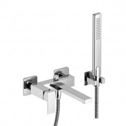 PONSI Italia R mitigeur baignoire avec douchette à main  support mural