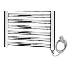BANIO Série MON Electrique Radiateur Sèche-serviette Couleur : Chromé  Largeur:   500 Hauteur: 1.500