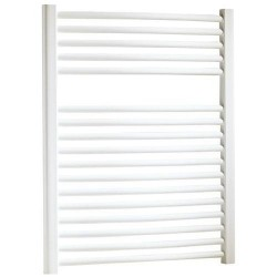 radiateur s che serviette 40x77 cm chauffage centrale blanc banio. Black Bedroom Furniture Sets. Home Design Ideas