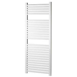 Radiateur Sèche-serviette 150x55 cm chauffage centrale 875 watts - Blanc