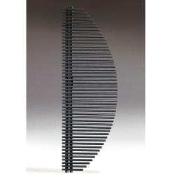 BANIO Radiateur Sèche-serviette  Modèle  VELA                       RAL:9010  Couleur : Blanc   Largeur:   600 Hauteur: 1.800