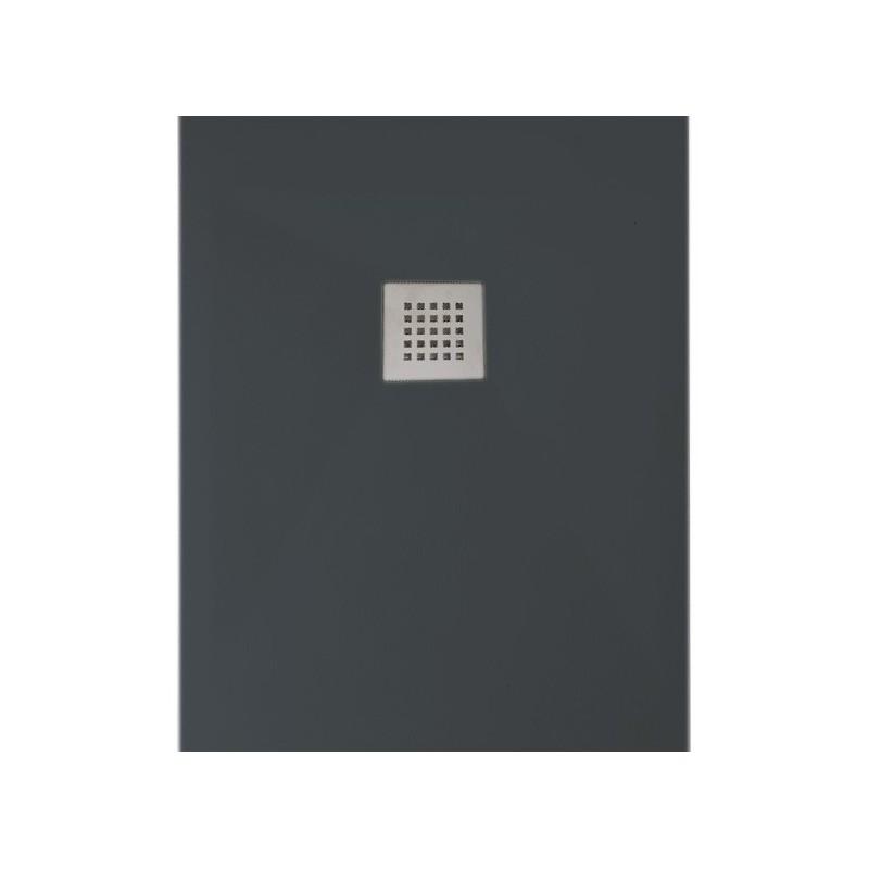 ponsi receveur de douche antracite rectangulaire 100x70 bpm01a. Black Bedroom Furniture Sets. Home Design Ideas