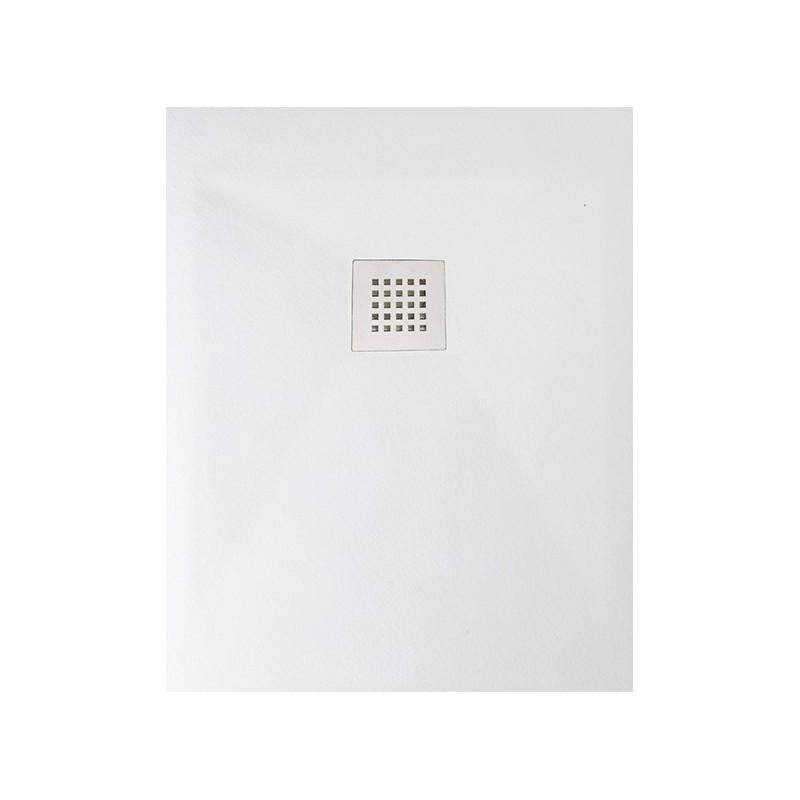 Ponsi receveur de douche bianco rectangulaire 100x70 bpm01b for Receveur de douche 100x70