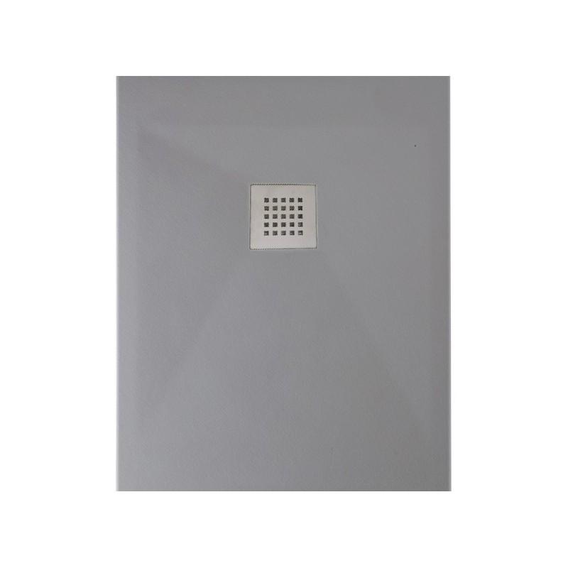ponsi receveur de douche cemento rectangulaire 120x70 bpm02c. Black Bedroom Furniture Sets. Home Design Ideas