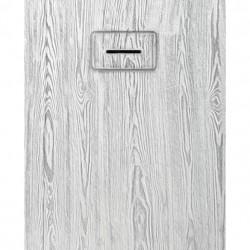 PONSI Douchebak  MADERA   120X 80 cm  Kleur white et Grijs