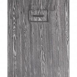 PONSI Douchebak  MADERA   160X 80 cm  Kleur white et Grijs  foncé