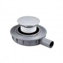 PONSI Siphon de 90 mm EXTRA PLAT 45 mm de hauteur pour receveur de douche