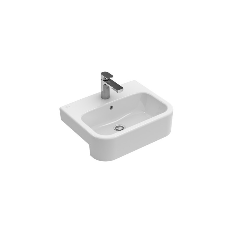 villeroy boch architectura vasque semi encastr e blanc. Black Bedroom Furniture Sets. Home Design Ideas