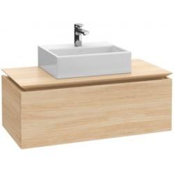 Villeroy & Boch Legato Meuble sous-lavabo Glossy Grey