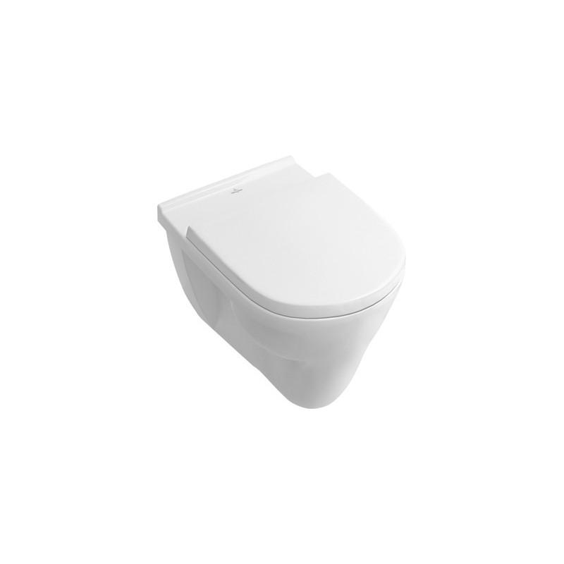 villeroy boch cuvette fond plat blanc antibac 566210t1. Black Bedroom Furniture Sets. Home Design Ideas