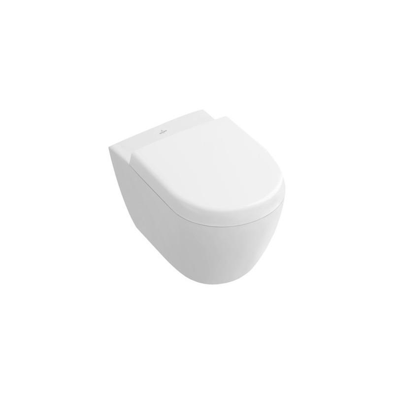 villeroy boch subway 2 0 cuvette fond creux compact sans bride blanc ceramicplus 5606r0r1. Black Bedroom Furniture Sets. Home Design Ideas