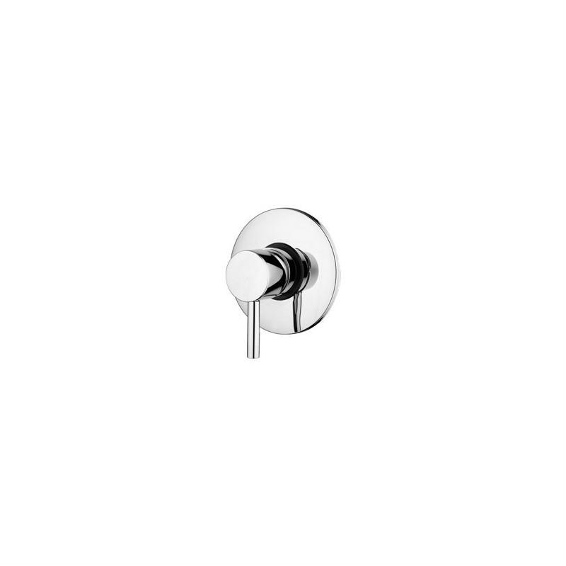 Paffoni light mitigeur encastr douche 1 2 complet avec - Mitigeur bain douche 110 mm ...
