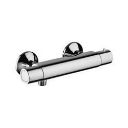 Paffoni Equo Star New Mitigeur de douche thermostatique apparent nu 1/2   Chrome
