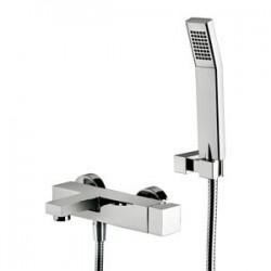 Paffoni Effe Mitigeur bain/douche apparent avec set de douche régable Chrome