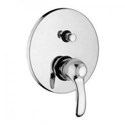 Paffoni Flavia Mitigeur encastré douche 1/2  avec inverseur complet  Bronze