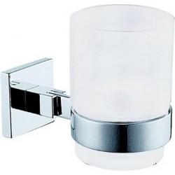 Damixa Salle de bain porte-verre et verre chromé