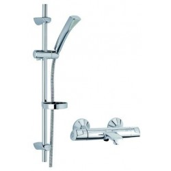 Damixa Thermostatiques Thermixa 400 therm. bain + set de douche Rowan compl. chromé