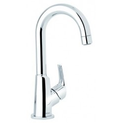 Damixa Salle de bain robinet lave-mains haut chromé